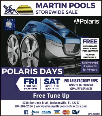 Polaris Days Sales Event Kerry Martin Pool Builders Inc